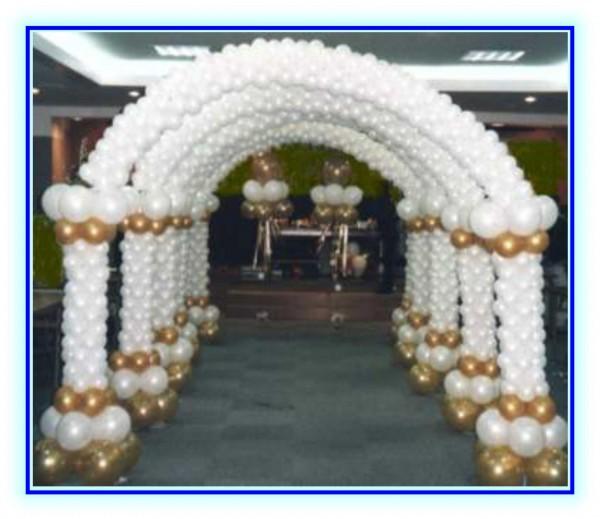 Top Allestimenti con palloncini per matrimoni KU56